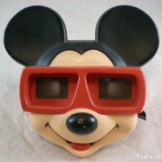 Juguetes Antiguos: MICKEY MOUSE 3D VIEW MASTER - 1989 WALT DISNEY - MADE IN BELGIUM. Lote 155283822