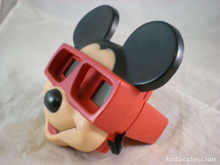 Juguetes Antiguos: Mickey Mouse 3D View Master - 1989 Walt Disney - Made in Belgium - Foto 2 - 155283822