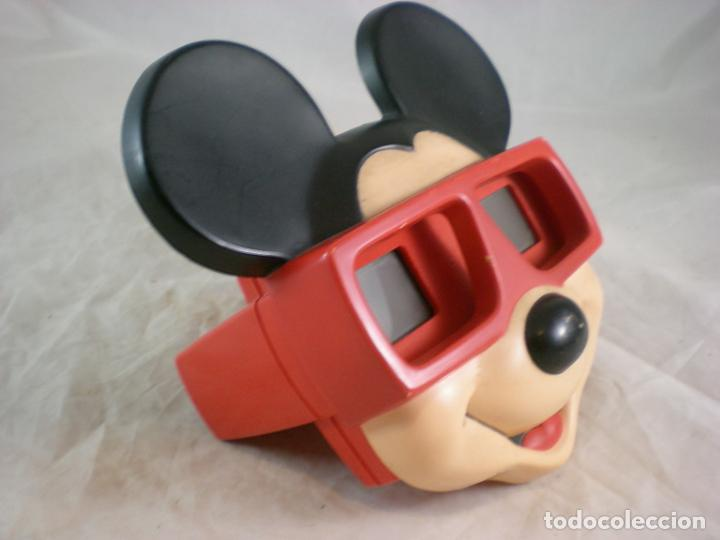 Juguetes Antiguos: Mickey Mouse 3D View Master - 1989 Walt Disney - Made in Belgium - Foto 3 - 155283822