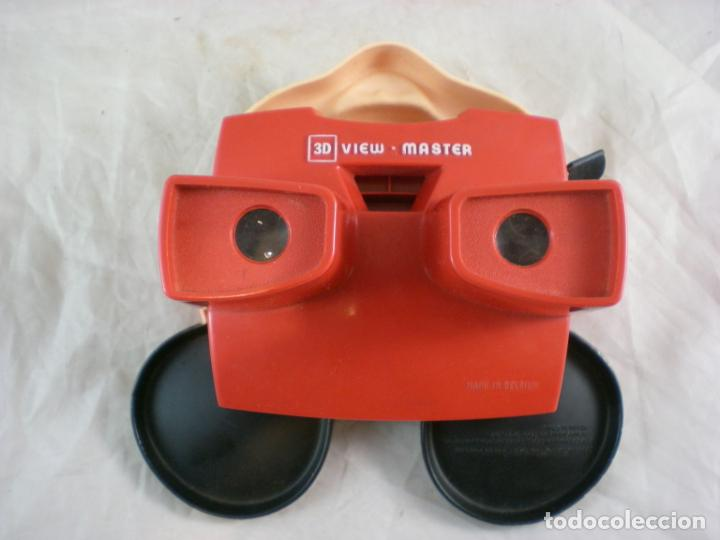 Juguetes Antiguos: Mickey Mouse 3D View Master - 1989 Walt Disney - Made in Belgium - Foto 4 - 155283822