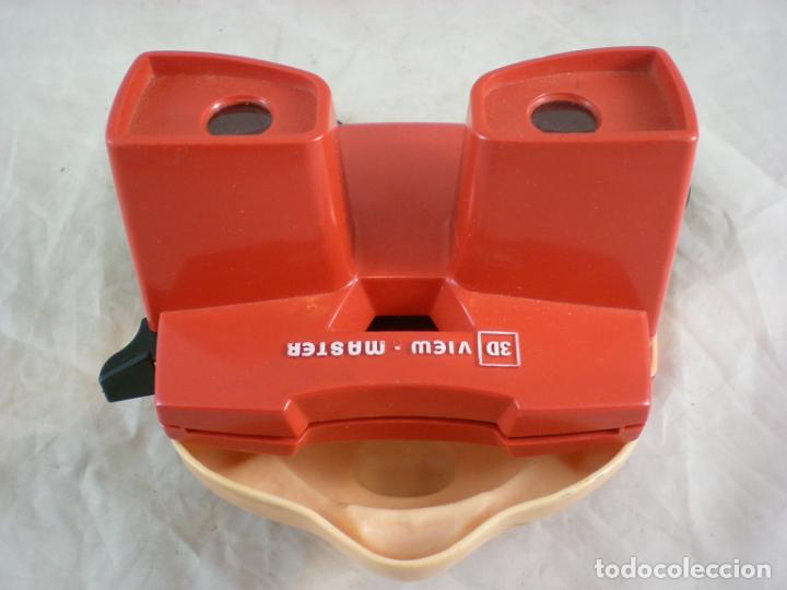 Juguetes Antiguos: Mickey Mouse 3D View Master - 1989 Walt Disney - Made in Belgium - Foto 5 - 155283822