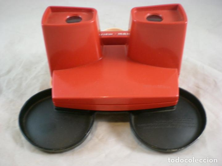 Juguetes Antiguos: Mickey Mouse 3D View Master - 1989 Walt Disney - Made in Belgium - Foto 6 - 155283822
