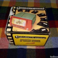 Juguetes Antiguos: PROYECTOR TELEVISIÓN DE PELÍCULA CONTINUA. Lote 157800821