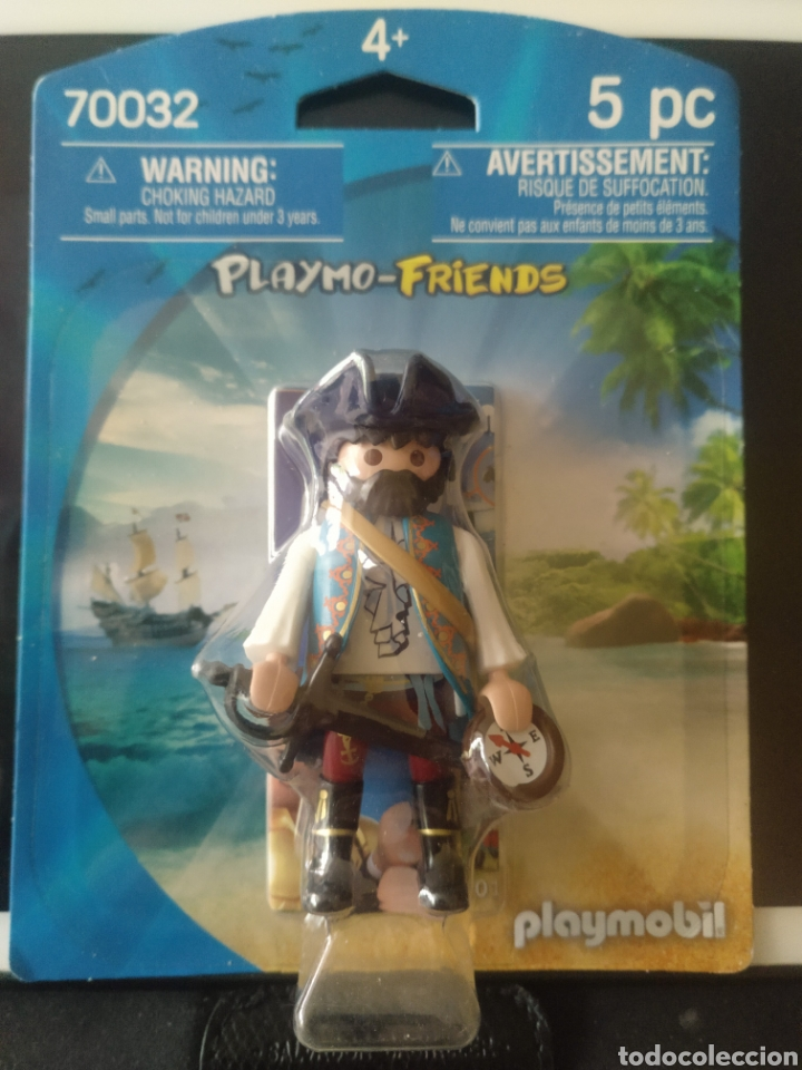 PLAYMOBIL PIRATA 70032 PLAYMOFRIEND (Juguetes - Pre-cine y Cine)