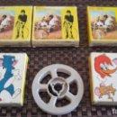 Juguetes Antiguos: LOTE DE 5 PELÍCULAS DE 8MM DE CINE MAX DE BIANCHI. Lote 160533346