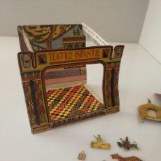 Juguetes Antiguos: ANTIGUO TEATRILLO TEATRO INFANTIL DE PAPEL AÑOS 30 DISNEY MICKEY MOUSE MINNIE PATO DONALD. Lote 162001234