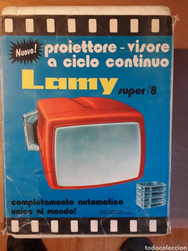 PROYECTOR SUPER 8 LAMY (Juguetes - Pre-cine y Cine)