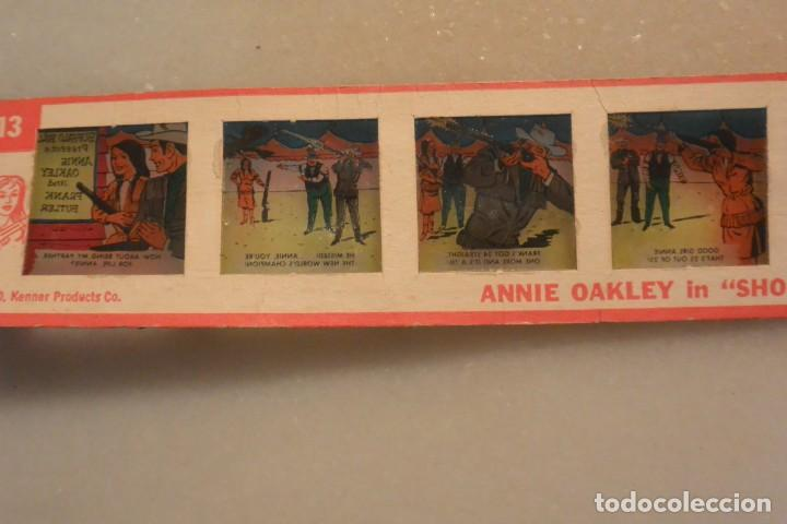 Juguetes Antiguos: VISTAS KENNER COLOR ANNIE OAKLEY IN SHOT OUT. 1962 - Foto 2 - 162537634