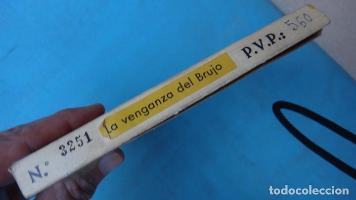 Juguetes Antiguos: PELICULA DIBUJOS ANIMADOS MARIONETAS , LA VENGANZA DEL BRURJO , 8 MM , ANTIGUA , ORIGINAL - Foto 2 - 164438750