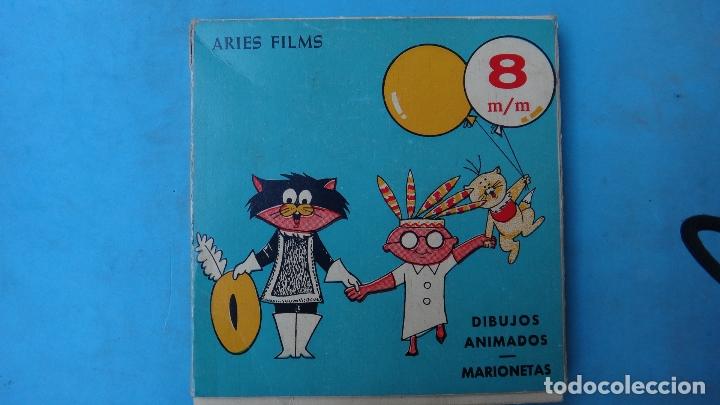 Juguetes Antiguos: PELICULA DIBUJOS ANIMADOS MARIONETAS , LA VENGANZA DEL BRURJO , 8 MM , ANTIGUA , ORIGINAL - Foto 3 - 164438750