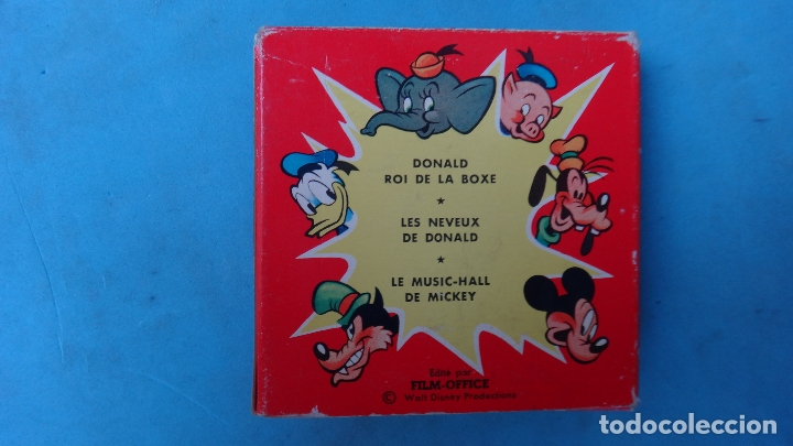 Juguetes Antiguos: PELICULA GOOFY EN PLANEUR , WALT DISNEY , FILM OFFICE , ANTIGUA , ORIGINAL - Foto 2 - 164442878