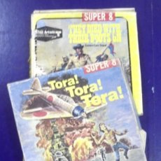 Juguetes Antiguos: LOTE DE 3 PELICULAS SUPER 8. TORA TORA TORA!, THE FLINTSTONES, THEY DIED WITH THEIR BOOTS ON. LEER. Lote 165005934