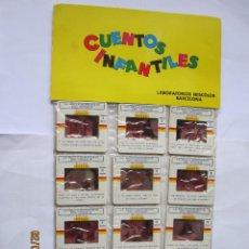 Juguetes Antiguos: ANTIGUAS DIAPOSITIVAS KODAK CUENTOS INFANTILES IRISCOLOR CUENTO PELICULA LA BELLA DURMIENTE DEL BOSQ. Lote 165097690