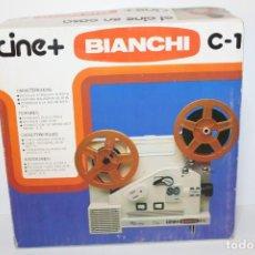 Juguetes Antiguos: CINE BIANCHI C-1 REF.: 7025 EN CAJA DE ORIGEN. Lote 166435326