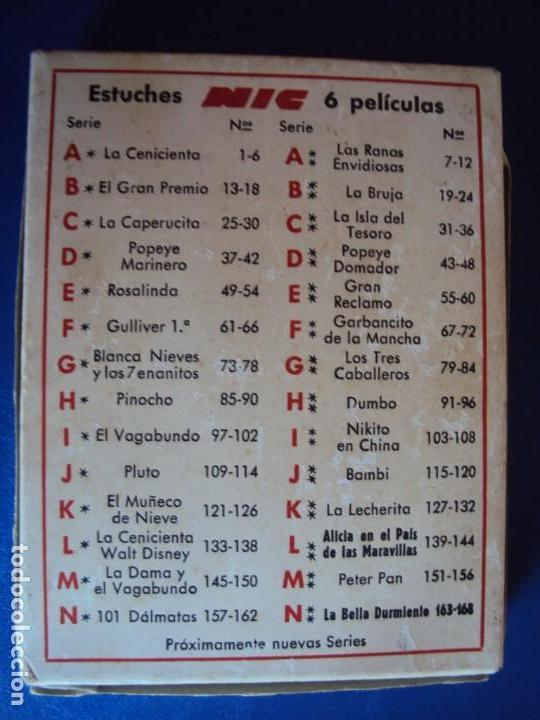 Juguetes Antiguos: (JU-190602)LOTE DE 30 PELICULAS CINE NIC SONORO - Foto 7 - 166782086