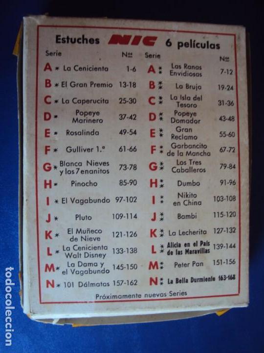 Juguetes Antiguos: (JU-190602)LOTE DE 30 PELICULAS CINE NIC SONORO - Foto 10 - 166782086