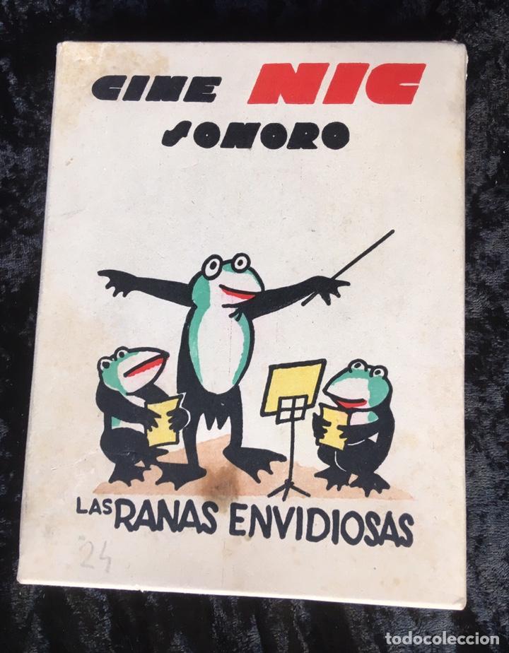 6 PELICULAS NIC - LAS RANAS ENVIDIOSAS - SERIE A - MUY BUEN ESTADO (Juguetes - Pre-cine y Cine)