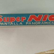 Juguetes Antiguos: CINE SUPER NIC. PANTALLA PANORÁMICA. EL ACORDEÓN.. Lote 169080516