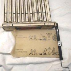 Juguetes Antiguos: NIC SONORO AÑOS 30 PRIMERA EDICIÓN LOTE 12 PELÍCULAS. Lote 173952680