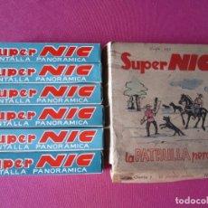 Juguetes Antiguos: SUPER NIC LA PATRULLA PERDIDA 6 PELICULAS DEL OESTE . Lote 174232674