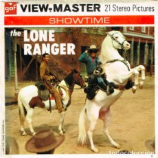 Juguetes Antiguos: THE LONE RANGER - EL LLANERO SOLITARIO. VISOR ESTERESCOPICO 1956. VIEWMASTER SERIES TV. Lote 174415389