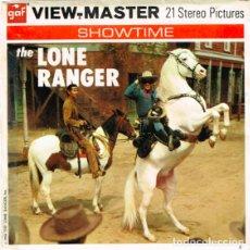 Juguetes Antiguos: THE LONE RANGER - EL LLANERO SOLITARIO. VISOR ESTERESCOPICO 1956. VIEWMASTER SERIES TV. Lote 174415389