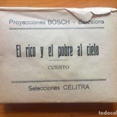 Juguetes Antiguos: CUENTO DIBUJO PROYECCIONES BOSCH BARCELONA SELECCIONES CELITRA MBE COMPLETO. Lote 176833210