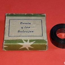 Juguetes Antiguos: TONIN Y LOS SALVAJES, RARA PELÍCULA CINE MONO-CINEMA PAYA, JEFE O SIMILAR, ORIGINAL AÑOS 40-50.. Lote 177687477