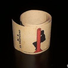 Juguetes Antiguos: SEÑOR CON COLUMPIO. ANTIGUA TIRA PELÍCULA ZOOTROPO PRE-CINE, MIDE 54,5 X 5,5 CMS. ORIGINAL 1920.. Lote 177742944