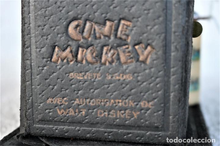 Juguetes Antiguos: CINE MICKEY - CINE NIC EN CARTÓN FRANCES - PROYECTOR PARA COLECCIÓN DE NIVEL. - Foto 5 - 180821408