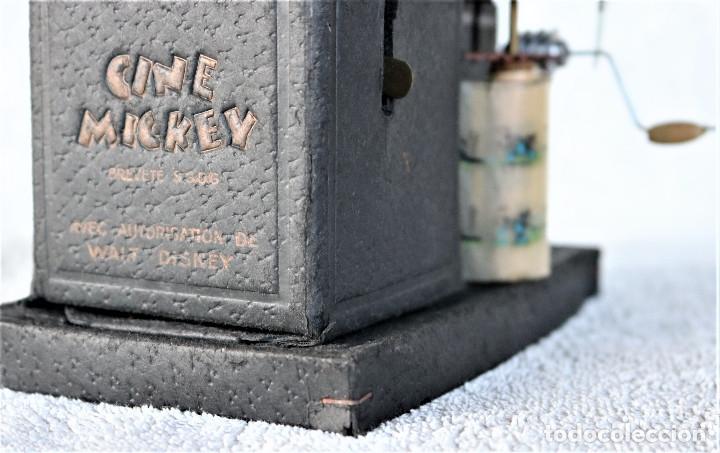 Juguetes Antiguos: CINE MICKEY - CINE NIC EN CARTÓN FRANCES - PROYECTOR PARA COLECCIÓN DE NIVEL. - Foto 6 - 180821408