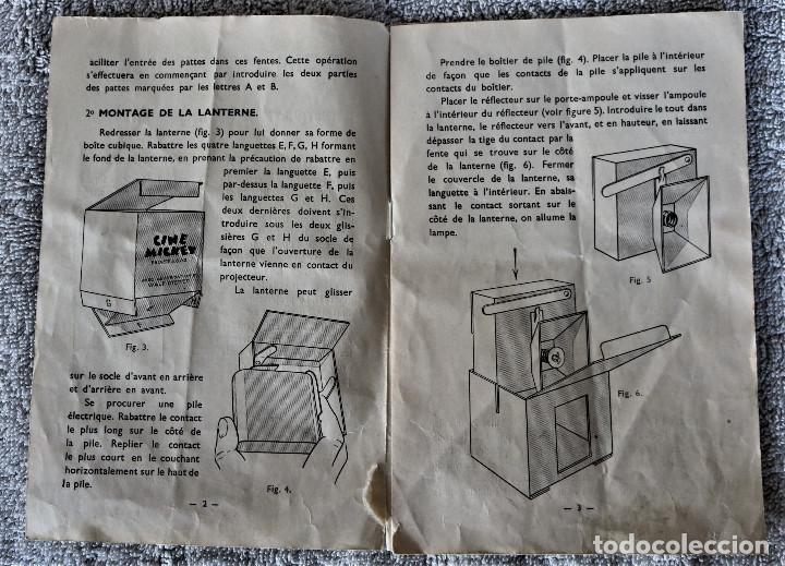Juguetes Antiguos: CINE MICKEY - CINE NIC EN CARTÓN FRANCES - PROYECTOR PARA COLECCIÓN DE NIVEL. - Foto 24 - 180821408