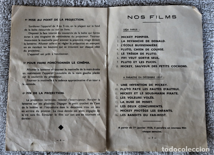 Juguetes Antiguos: CINE MICKEY - CINE NIC EN CARTÓN FRANCES - PROYECTOR PARA COLECCIÓN DE NIVEL. - Foto 26 - 180821408