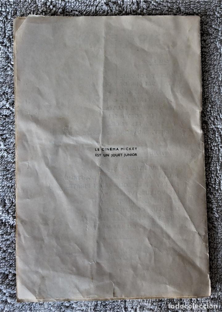 Juguetes Antiguos: CINE MICKEY - CINE NIC EN CARTÓN FRANCES - PROYECTOR PARA COLECCIÓN DE NIVEL. - Foto 27 - 180821408