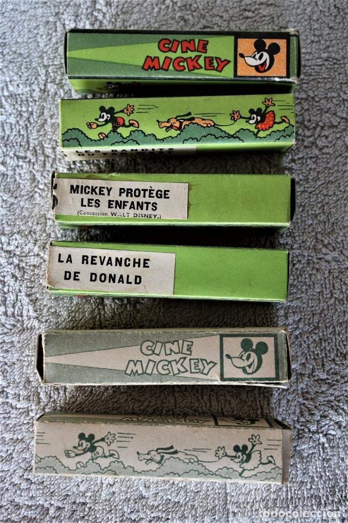 Juguetes Antiguos: CINE MICKEY - CINE NIC EN CARTÓN FRANCES - PROYECTOR PARA COLECCIÓN DE NIVEL. - Foto 28 - 180821408