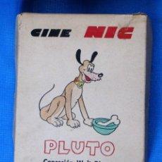 Juguetes Antiguos: CAJA CON 6 PELÍCULAS. CINE NIC. PLUTO Y MICKEY CONCESIÓN WALT DISNEY. . Lote 180876041
