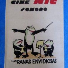 Brinquedos Antigos: CAJA CON 6 PELÍCULAS VARIADAS. CINE NIC. SERIE A. RANAS ENVIDIOSAS, MIAU TENOR, ARCA DE NOÉ, ETC.. Lote 180880486