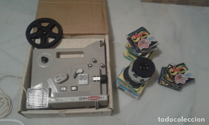 Juguetes Antiguos: proyector Bianchi Super 8 - Foto 1 - 182118450