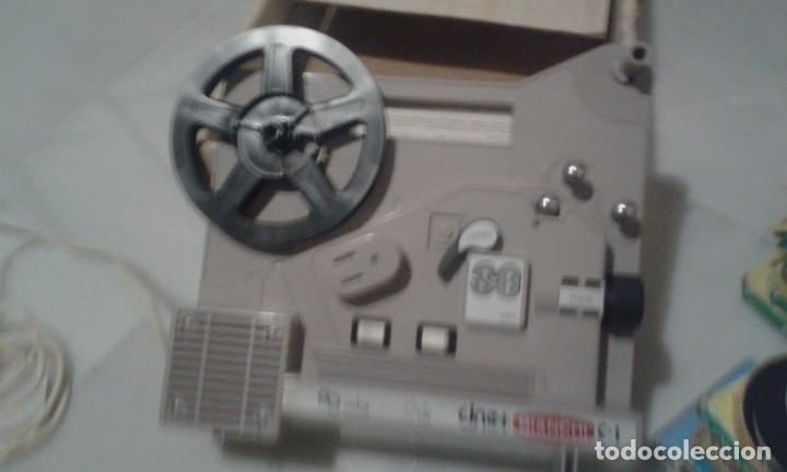 Juguetes Antiguos: proyector Bianchi Super 8 - Foto 2 - 182118450