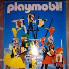 Juguetes Antiguos: PLAYMOBIL 3265 CABALLEROS MEDIEVALES CAJA ORIGINAL. Lote 182724025