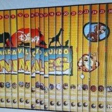 Juguetes Antiguos: EL MARAVILLOSO MUNDO DE LOS ANIMALES. 26 DVD. Lote 186093806