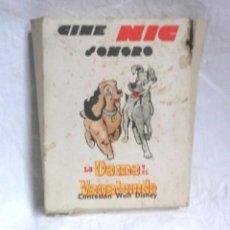 Juguetes Antiguos: LA DAMA Y EL VAGABUNDO DE WALT DISNEY SERIE COMPLETA 6 PELICULAS CINE NIC SONORO. Lote 190051626
