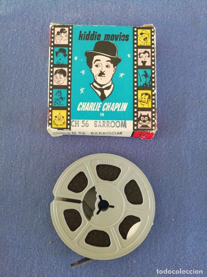 Juguetes Antiguos: Película 8mm Kiddie movies. Charlie Chaplin - Foto 2 - 191770963
