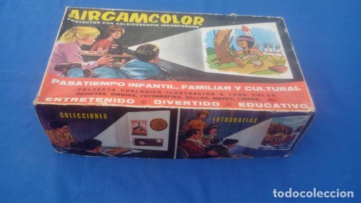 Juguetes Antiguos: AIRGAMCOLOR, PROYECTOR CON CALEIDOSCOPIO INCORPORADO .... ZXY - Foto 2 - 193739900