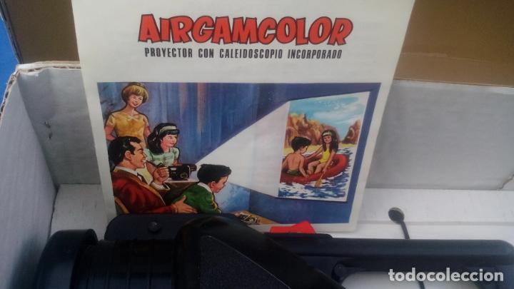 Juguetes Antiguos: AIRGAMCOLOR, PROYECTOR CON CALEIDOSCOPIO INCORPORADO .... ZXY - Foto 6 - 193739900