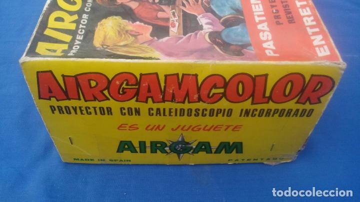 Juguetes Antiguos: AIRGAMCOLOR, PROYECTOR CON CALEIDOSCOPIO INCORPORADO .... ZXY - Foto 9 - 193739900