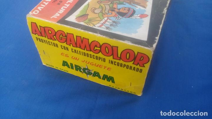 Juguetes Antiguos: AIRGAMCOLOR, PROYECTOR CON CALEIDOSCOPIO INCORPORADO .... ZXY - Foto 11 - 193739900