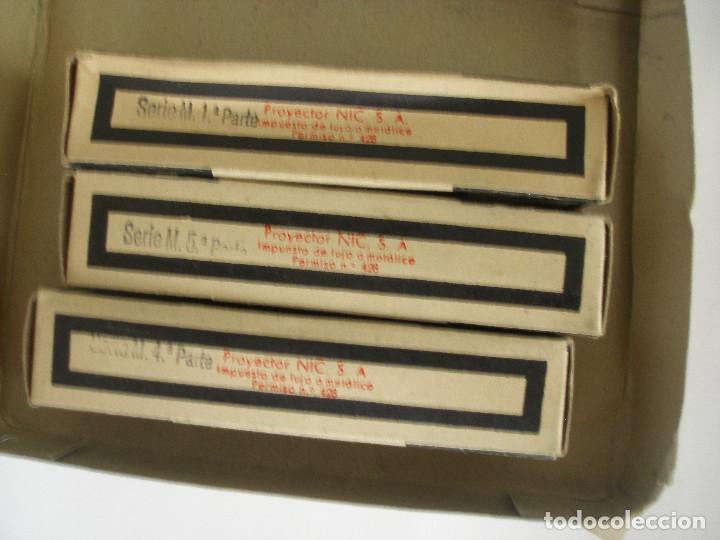 Juguetes Antiguos: Cine Nic sonoro La Dama y el Vagabundo caja con tres películas sin uso - Foto 4 - 193810733