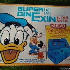 Juguetes Antiguos: CINEXIN CON 9 PELÍCULAS. SUPER CINE EXIN 8. Lote 194127912