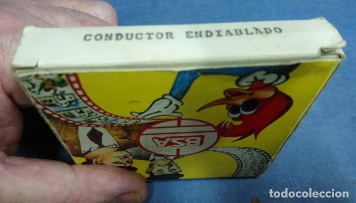 PELICULA SUPER 8. DE BIANCHI S.A. CONDUCTOR ENDIABLADO DE STAN LAUREL Y OLIVER HARDY. BYN (Juguetes - Pre-cine y Cine)